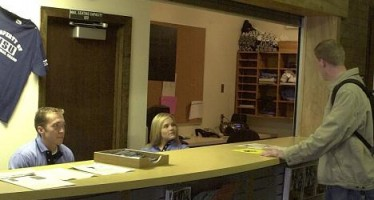 New service desk makes Campus Rec accessible