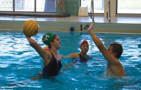 Treading water: Water polo team looks to expand