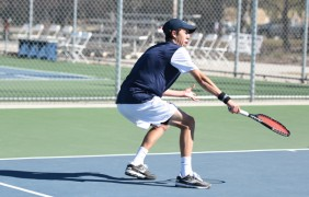 Utah State freshman sets tennis record