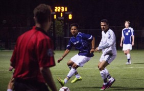 Men's soccer sweeps weekend