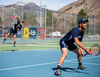 Aggie men's tennis sweeps Nevada