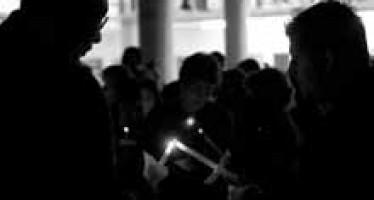 Candlelight vigil honors King
