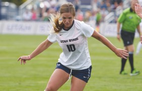 Women's soccer ranked third two weeks from tournament