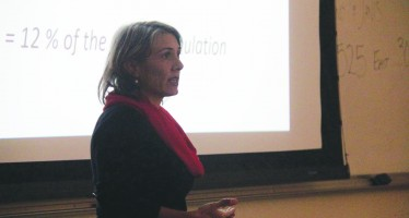 Ancient plants examined by ecology center speaker
