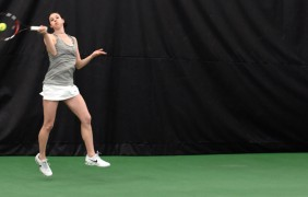 Women's tennis beats BYU for first time