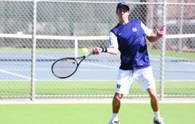 Aggie tennis: Men's team finishing off bounce-back season