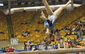 USU gymnasts place fifth at regionals