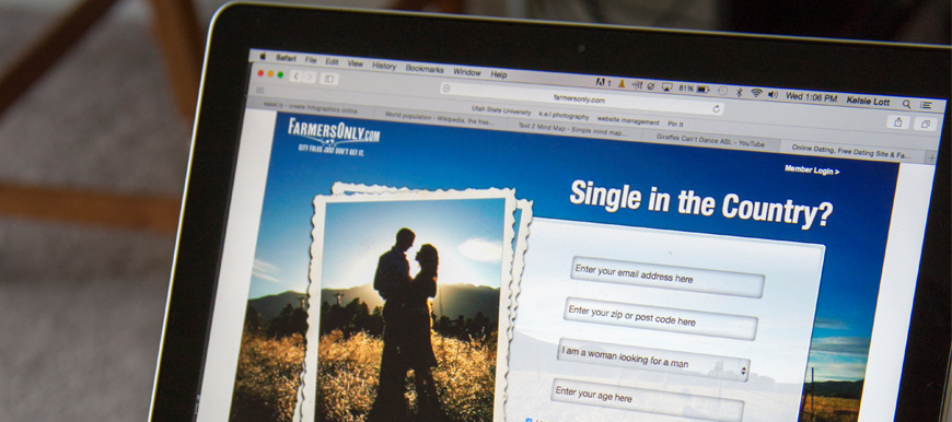 how do online dating sites get your email address