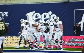 Run game powers Utah State to win over Colorado State