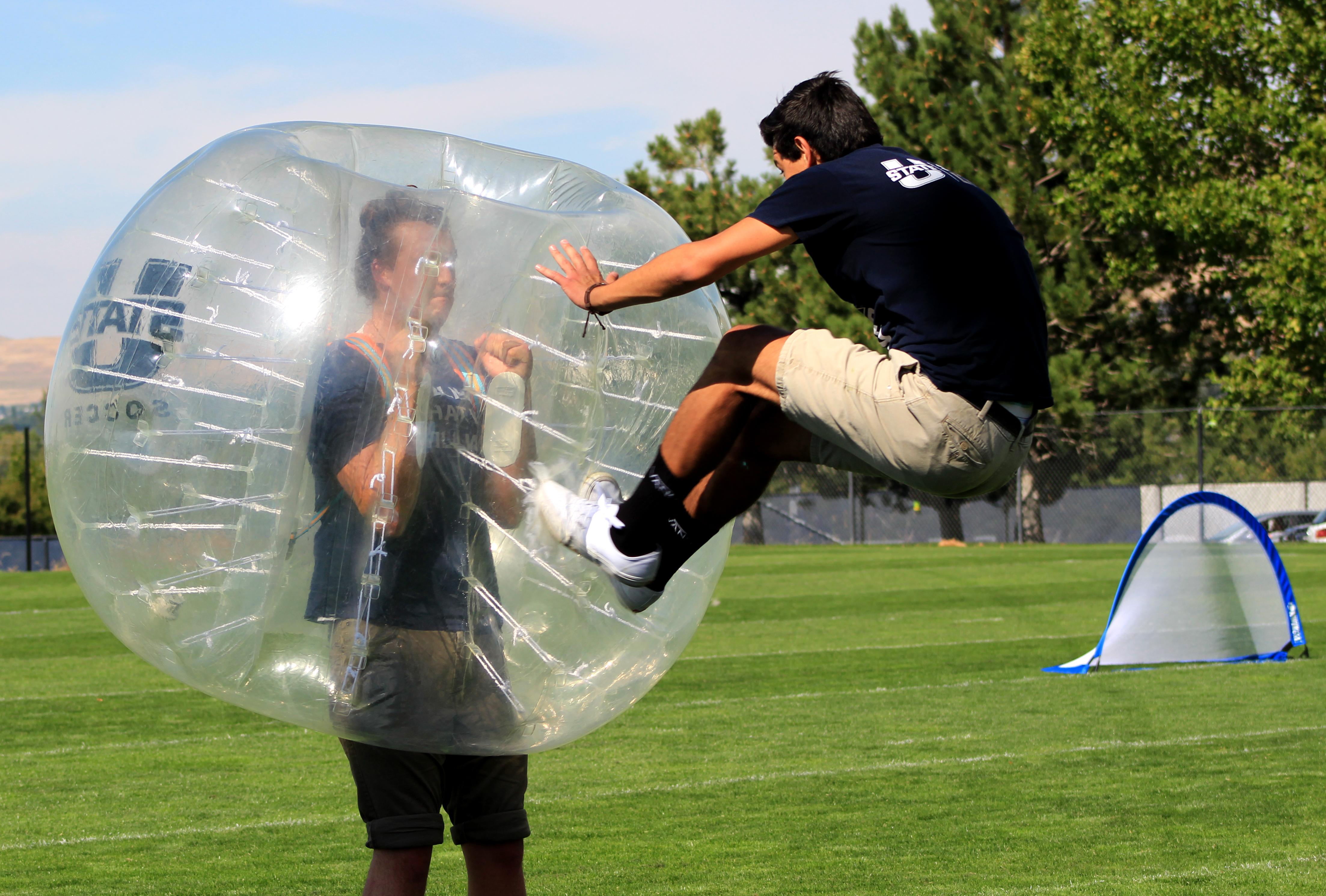 Bubble Soccer Tournament The Utah Statesman