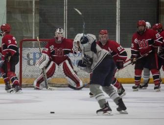 USU hockey falls to U of U for fourth time this season at annual Teddy Bear Toss