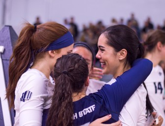 Aggie seniors lead team to victory in final match of the season