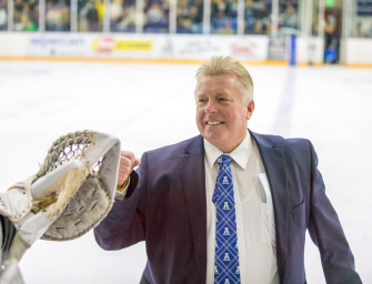 Aggie hockey's Jon Eccles has over 200 wins and three athletes playing pro — and does it all for free