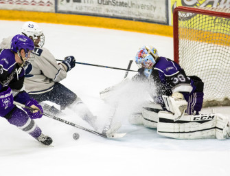 Aggie hockey downs in-state rivals Weber State and UVU