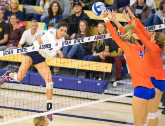 USU women's volleyball falls at home, fails to overcome Boise State's offensive attack