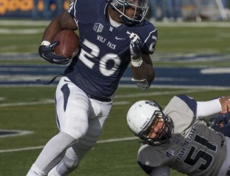Utah State falls to Nevada on a last-second touchdown