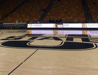Utah State men's basketball picks up victory against University of New Orleans