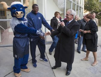 Goodbye Stan and Joyce: USU community surprises retiring president