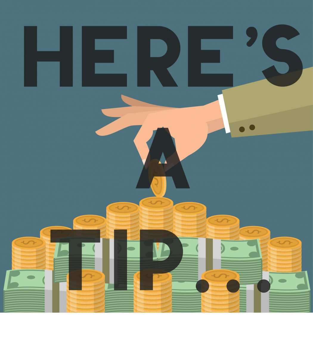 Tipping Tips Who When And How Much The Utah Statesman