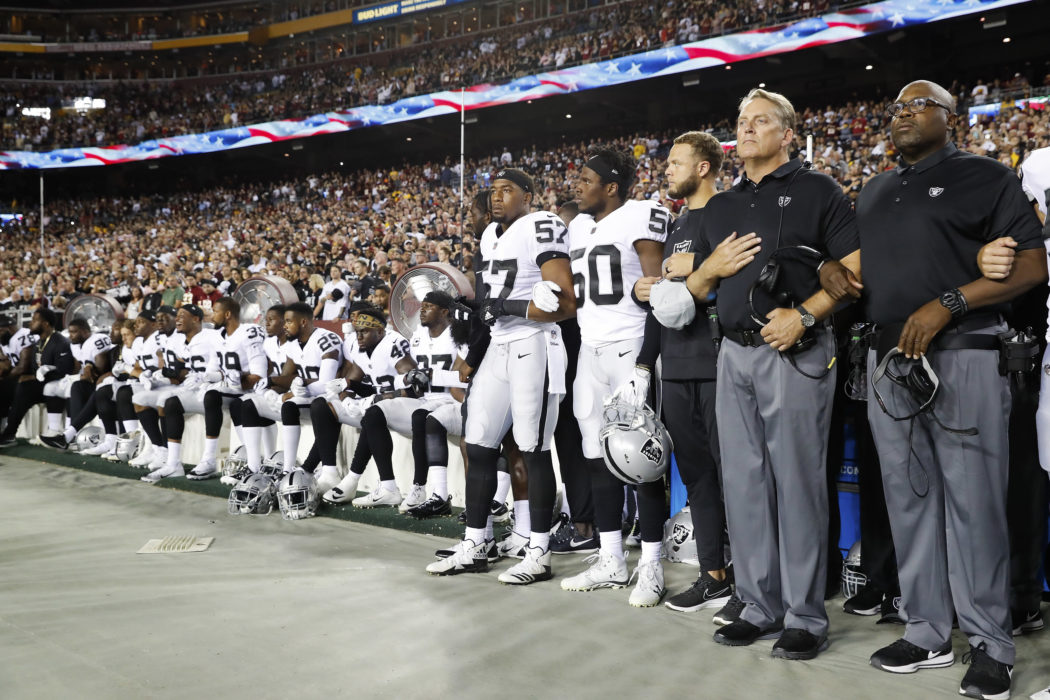 AP STORY  Don t talk about mom  NFL players angry over Trump s insult baa42f9a0