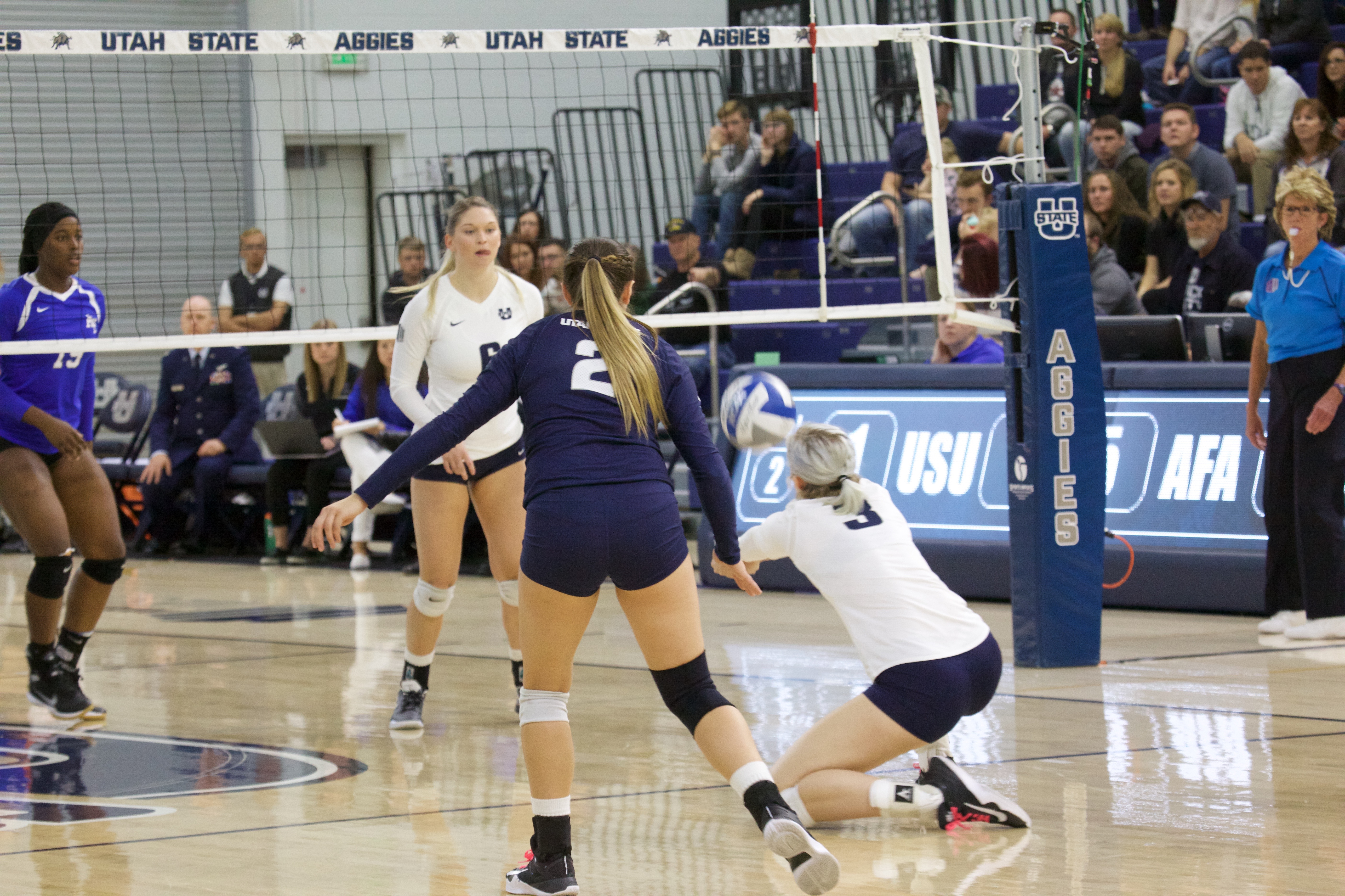 GALLERY: Volleyball vs Air Force - The Utah Statesman