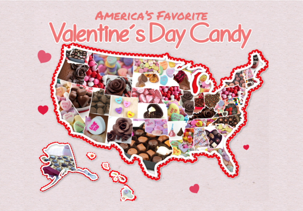 What S The Most Popular Valentine S Day Candy In Utah The Utah