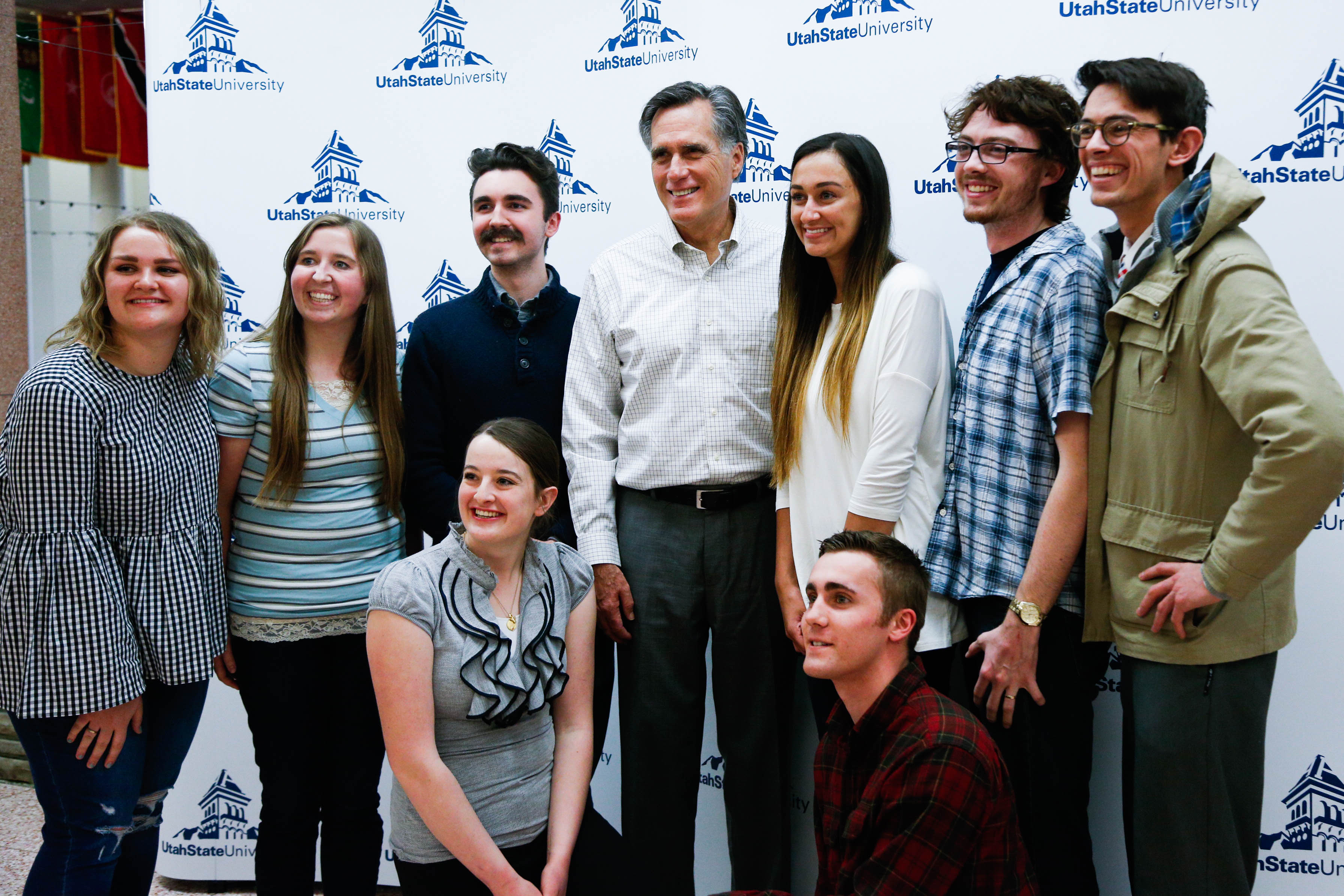 Mitt Romney Visits Usu Read Qa Here The Utah Statesman